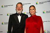 Tom Hanks and Rita Wilson arrive for the formal Artist's Dinner honoring the recipients of the 42nd Annual Kennedy Center Honors at the United States Department of State in Washington, D.C. on Saturday, December 7, 2019. The 2019 honorees are: Earth, Wind & Fire, Sally Field, Linda Ronstadt, Sesame Street, and Michael Tilson Thomas.<br /> Credit: Ron Sachs / Pool via CNP
