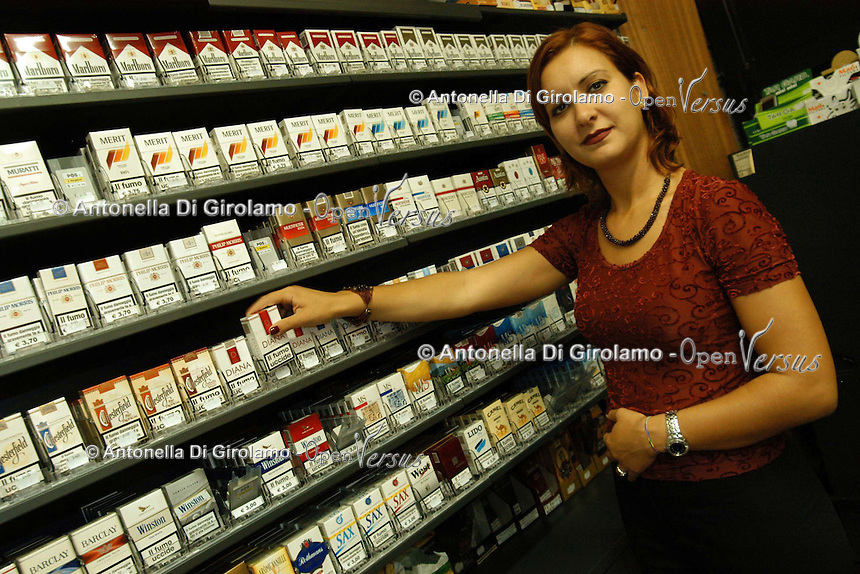 Tabaccaio. Tobacconist....