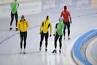 SCHAATSEN: HEERENVEEN, IJsstadion Thialf, 17-10-2020, KNSB Trainingswedstrijd, ©foto Martin de Jong