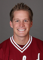 STANFORD, CA - NOVEMBER 11:  Scott Colton of the Stanford Cardinal during baseball picture day on November 11, 2009 in Stanford, California.
