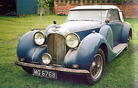 BNPS.co.uk (01202 558833)<br /> Pic: H&HClassics/BNPS<br /> <br /> The car in 2006 after emerging from 40 years of storage and before its 'nut & bolt' restoration.<br /> <br /> 'W.O. Bentley's Masterpeice' - This 1939 stunner dubbed 'the most the most advanced motor car in pre WW2 Britain' has been restored for sale - but you'll need deep pockets for the £400.000 asking price.<br /> <br /> The beautiful Lagonda V12 Drophead Coupe was designed by W.O.Bentley just as storm clouds were gathering across Europe, and it's top speed of 140mph was unheard of at the time.<br /> <br /> It spent more than 40 years languishing in a barn before being uncovered in 2006.<br /> <br /> It was bought by a wealthy car enthusiast who paid for it to undergo a full 'nuts and bolts' restoration.<br /> <br /> The motor now appears as good as new and is to go under the hammer with auctioneers H&H Classics of Warrington, Cheshire.