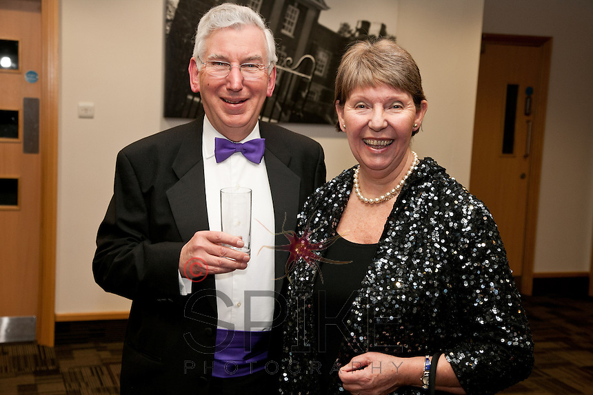 Judge Andrew Hamilton and Leader of Notts County Council Councillor Kay Cutts