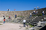 CYPRUS, North cyprus, Salamis: ancient settlement and archaelogical excavation - Amphitheatre<br />