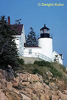 AC31-005a  Lighthouse - Bass Harbor, Maine