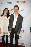 "LOS ANGELES - DEC 4:  Torrey DeVitto and actor Paul Wesley arrives at ""The Trevor Project's 2011 Trevor Live!"" at Hollywood Palladium on December 4, 2011 in Los Angeles, CA"