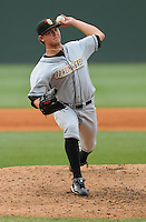 June 14, 2009: LHP Michael Jarman (19) of the Bowling Green Hot Rods, Class A affiliate of the Tampa Bay Rays, in a game against the Greenville Drive at Fluor Field at the West End in Greenville, S.C. Photo by: Tom Priddy/Four Seam Images