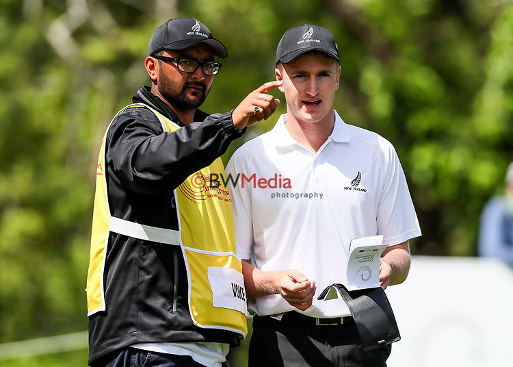 Nick Voke of New Zealand during the Asia Pacific Amateur Golf Championship Round Two, Royal Wellington Golf Course, Wellington, New Zealand, 27 October2017.  Photo: Simon Watts/www.bwmedia.co.nz
