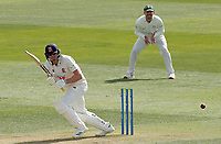 Daniel Lawrence of Essex in batting action during Essex CCC vs Worcestershire CCC, LV Insurance County Championship Group 1 Cricket at The Cloudfm County Ground on 8th April 2021