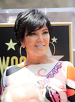 Ellen K is honored with the 2471st star on the Hollywood Walk of Fame. Los Angeles, California on 10.05.2012. PICTURED: Kris Jenner..Credit: Martin Smith/face to face /MediaPunch Inc. ***FOR USA ONLY***