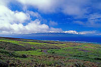 Looking towards Molokai from Lanai