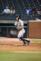 ***Temporary Unedited Reference File***Montgomery Biscuits center fielder Johnny Field (1) during a game against the Chattanooga Lookouts on May 2, 2016 at AT&T Field in Chattanooga, Tennessee.  Chattanooga defeated Montgomery 9-6.  (Mike Janes/Four Seam Images)