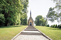 Toepkapel (Toep chapel) in Nederbrakel<br /> <br /> cycling hotspots & impressions in the Vlaamse Ardennen (Flemish Ardennes) along the 181km Spartacus (Chasing Cancellara) cycling route<br /> <br /> Cycling In Flanders <br /> Flanders Tourist Board<br /> <br /> ©kramon