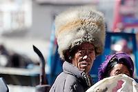Nomad trader in Lao Tingri, Tibet