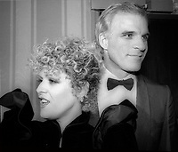 Steve Martin Bernadette Peters 1981 Photo by Adam Scull-PHOTOlink.net