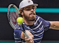 Rotterdam, The Netherlands, 28 Februari 2021, ABNAMRO World Tennis Tournament, Ahoy, First round match: Reilly Opelka (USA).<br /> Photo: www.tennisimages.com