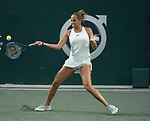 April 4,2018:  Madison Keys (USA) defeated Lara Arruabarrena (ESP) 6-1 in the first set at the Volvo Car Open being played at Family Circle Tennis Center in Charleston, South Carolina.  ©Leslie Billman/Tennisclix/CSM