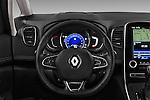 Car pictures of steering wheel view of a 2017 Renault Grand-Scenic Bose-Edition 5 Door Minivan Steering Wheel