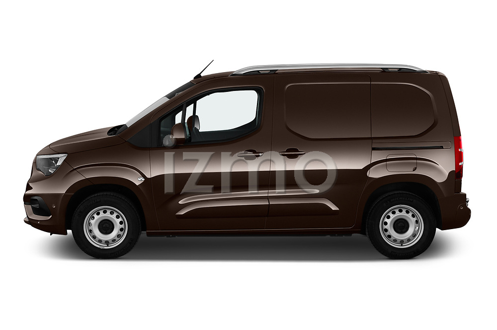 Car driver side profile view of a 2019 Opel Combo Dynamic 4 Door Car van