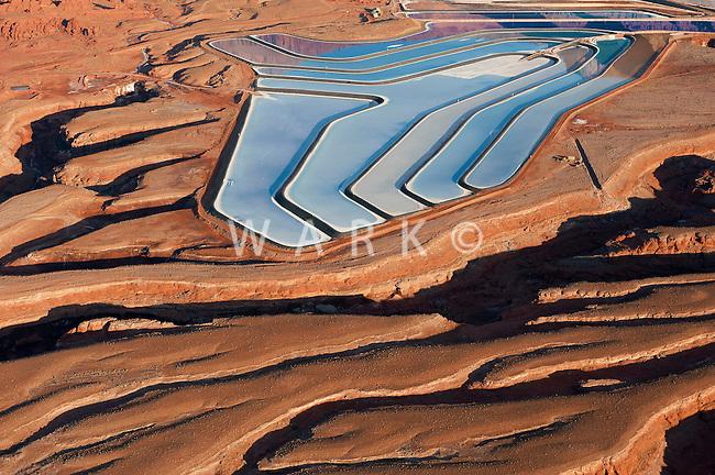 Potash mine near Moab, Utah