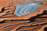 Potash mine near Moab, Utah