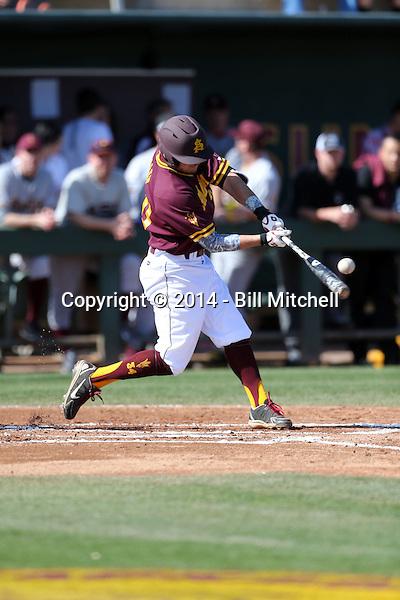 Trever Allen - 2014 Arizona State Sun Devils (Bill Mitchell)