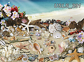 Lori, LANDSCAPES, LANDSCHAFTEN, PAISAJES, paintings+++++Seashells By The Seashore_72,USLS291,#l#, EVERYDAY ,puzzle,puzzles