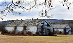 SIMSBURY CT. - 09 January 2020-010921SV04-Huge tobacco sheds on Firetown Road are where Martin Luther King Jr. worked as a teenager in the 1940s in Simsbury.<br /> Steven Valenti Republican-American