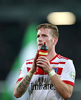 15.09.2017, Football 1. Bundesliga 2017/2018, 4.  match day, Hannover 96 - Hamburger SV, in HDI-Arena Hannover. Andre Hahn (Hamburg) dejected  *** Local Caption *** © pixathlon<br /> <br /> +++ NED + SUI out !!! +++<br /> Contact: +49-40-22 63 02 60 , info@pixathlon.de