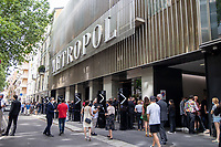 Milan,Italy - 19th june 2021 - Dolce & Gabbana fashion show for Milano fashion week Men's collection 18-22 june 2021 - main entrance of the show