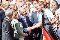 23.08.2016: Empfang der Olympiamannschaft auf dem Römerberg