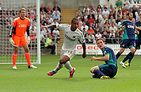 Saturday, 01 September 2012<br /> Pictured: Wayne Routledge of Swansea<br /> Re: Barclays Premier League, Swansea City FC v Sunderland at the Liberty Stadium, south Wales.