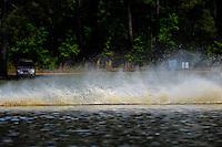 Frame 9: While chasing 13-V, 409-F goes up and over his roostertail. (runabouts)