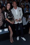 31.08.2012. Celebrities attending the Angel Schlesser fashion show during the Mercedes-Benz Fashion Week Madrid Spring/Summer 2013 at Ifema. In the image Aida Folch and Joaquin Torres (Alterphotos/Marta Gonzalez)