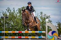 Le Grand Complet 2020. Haras du Pin. CCIO4*. Jumping.  <br /> Jonelle PRICE (NZL). GROVINE DE REVE<br /> Photographie FEI / Eric KNOLL
