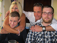 COPY BY TOM BEDFORD<br /> Pictured: Joel Symons (BOTTOM LEFT) with his family, image found on open social media account.<br /> Re: Inquest at Aberdare Coroner's Court, into the death of 24 year old chef Joel Symons, from Hay on Wye, who died at the Breconshire War Memorial Hospital on the February 12 2017.