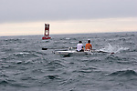 Open water racing, North American Open Water Championship, racing, competition, Port Townsend, Washington State, Pacific Northwest, Puget Sound, USA, Tyler Peterson, Evan Jacobs, 17, First Place, M2X, Lake Washington Rowing Club, LWRC, Maas 2X,