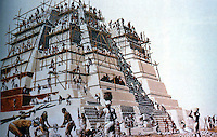 World Civilization:  Maya--El Mirador, the building of a pyramid.  Roger Lewin, IN THE AGE OF MANKIND, p. 221.