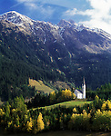 Italy, Alto Adige-Trentino (South-Tyrol), Val Ridanna, near Ridanna: church St. Magdalena | Italien, Suedtirol, Ridnauntal, bei Ridnaun: Knappenkirche St. Magdalena