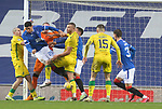 26.12.2020 Rangers v Hibs: Leon Balogun, Allan McGregor and James Tavernier combine to keeps Hibs out