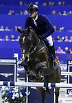OMAHA, NEBRASKA - MAR 30: Dawid Kubiak rides Bagazza M during the FEI World Cup Jumping Final I at the CenturyLink Center on March 30, 2017 in Omaha, Nebraska. (Photo by Taylor Pence/Eclipse Sportswire/Getty Images)