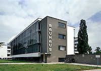 Deutschland, Sachsen-Anhalt, Bauhaus in Dessau, Unesco-Weltkulturerbe