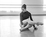 Studio Rehearsals by Dancers of the PTP at Cary Ballet Conservatory. 15 March 2016