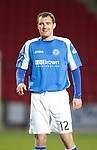 St Johnstone v Motherwell...03.11.12      SPL.David Robertson.Picture by Graeme Hart..Copyright Perthshire Picture Agency.Tel: 01738 623350  Mobile: 07990 594431