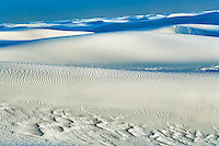 Endless sand. White Sands National Monument. New Mexico