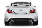 Straight rear view of a 2013 Hyundai Genesis Coupe 2.0T