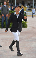 WELLINGTION, FL - MARCH 09: SATURDAY NIGHT LIGHTS: Kent Farrington participates The highlight event of week 9 at the 2019 Winter Equestrian Festival, the $391,000 Douglas Elliman Real Estate Grand Prix CSI 5*. The Winter Equestrian Festival (WEF) is the largest, longest running hunter/jumper equestrian event in the world held at the Palm Beach International Equestrian Center on March 09, 2019  in Wellington, Florida<br /> <br /> People:  Kent Farrington