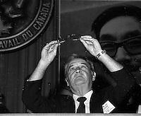 Denis Mc Dermott , President, Canadian Labour Congress, May 28, 1984