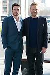 Kenneth Branagh and Richard Madden attend the Cinderella Movie Presentation at Puerta de Alcala, Madrid,  Spain. March 16, 2015.(ALTERPHOTOS/)Carlos Dafonte)