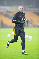 8th January 2021; Molineux Stadium, Wolverhampton, West Midlands, England; English FA Cup Football, Wolverhampton Wanderers versus Crystal Palace; Wolverhampton Wanderers Goalkeeper John Ruddy warming up on the pitch before the match