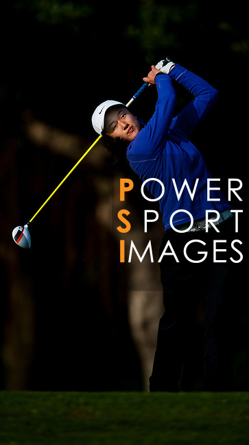 Yu Liu of China in action during the Hyundai China Ladies Open 2014 on December 13 2014, in Shenzhen, China. Photo by Xaume Olleros / Power Sport Images